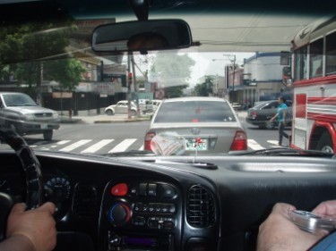 Cruising in El Salvador on the day after the treatment