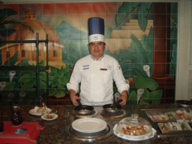 Breakfast at Sheraton Presidente with Chef Cruz