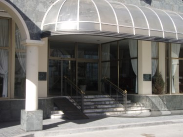 San Nicolas Plaza Hotel in the City of San Nicolas, where the Stem Cell Treatment took place