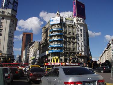 McDonald's Restaurant in Buenos Aires
