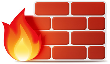 firewall prevents unauthorized access